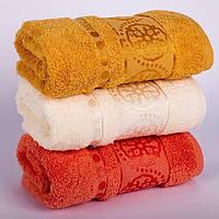 Полотенце для лица махровое Турция 50-90 см 100% хлопок качество LUX