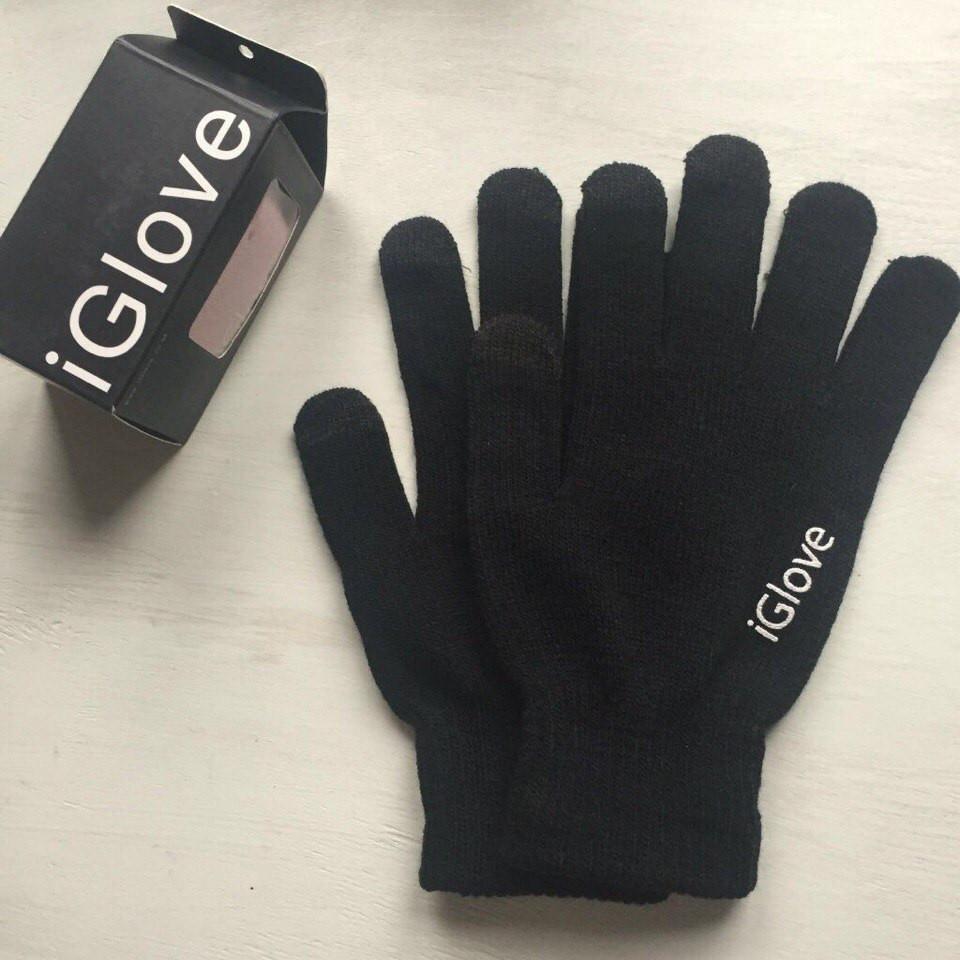 Перчатки iGlove для сенсорных устройств чёрные