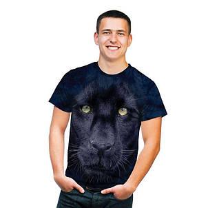 3D футболка для мальчика The Mountain р.L 10-12 лет футболки детские с 3д принтом рисунком - Взгляд Пантеры, фото 2