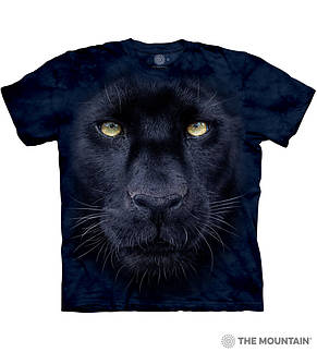 3D футболка для мальчика The Mountain р.L 10-12 лет футболки детские с 3д принтом рисунком - Взгляд Пантеры, фото 3
