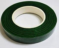 Флористическая лента (тейп-лента) темно-зеленая