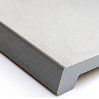 Подоконник Верзалит (Werzalit) цвет металлик