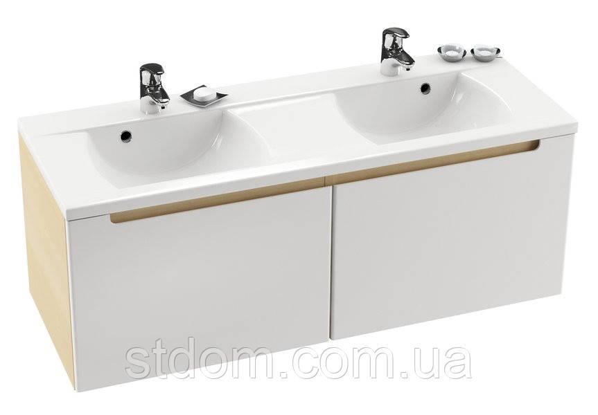 Шкафчик под двойной умывальник Ravak Classic SD 1300 (корпус белый, береза, оникс, лате, капучино)