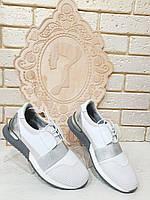 Кроссовки женские белые RS 1701/2