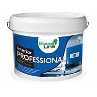 Краска интерьерная GREEN LINE Interior Professional акриловая 10л