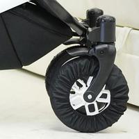 Чехол для поворотных колес коляски диаметр 22 - 26 см. Плащевка.