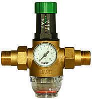 """Редуктор давления  HERZ для холодной воды(1,0-6,0 бар,)  1"""" DN 25мм. Температура 0-40 С., фото 1"""