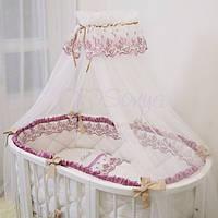 Постельный комплект Ricci розовый, фото 1