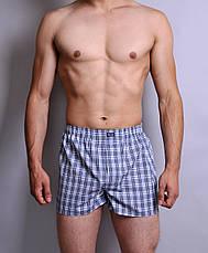 Мужские боксеры з поплина (M), фото 2