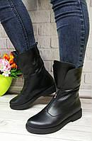 Високі шкіряні черевики фабрика взуття VISTANI