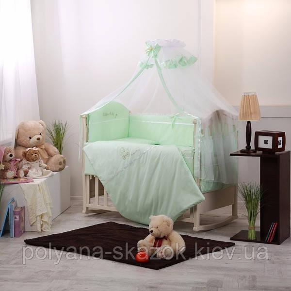 Комплект Golden Baby зеленый 7 пр, фото 1