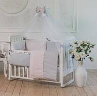 Комплект постельного Mi-mi розовый, фото 1