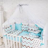 Балдахин Baby Design белый с серым, фото 1