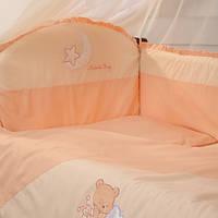 Бортики Маленькая Соня персиковый, фото 1