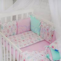 Бортики Baby Design Премиум Пирожные, фото 1