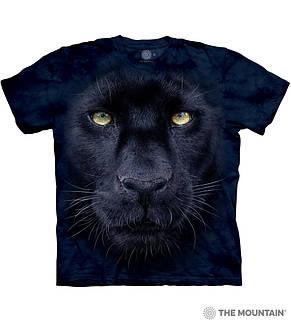 3D футболка для девочки The Mountain размер L 10-12 лет футболки детские с 3д рисунком Взгляд Пантеры, фото 2
