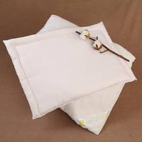 Подушка детская хлопковая плоская 40х60 см, фото 1