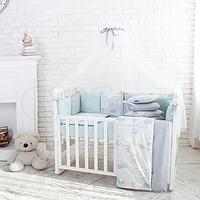 Комплект Baby Design Премиум Зайчики мята, фото 1