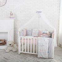 Комплект Baby Design Премиум Зайчики пудра, фото 1