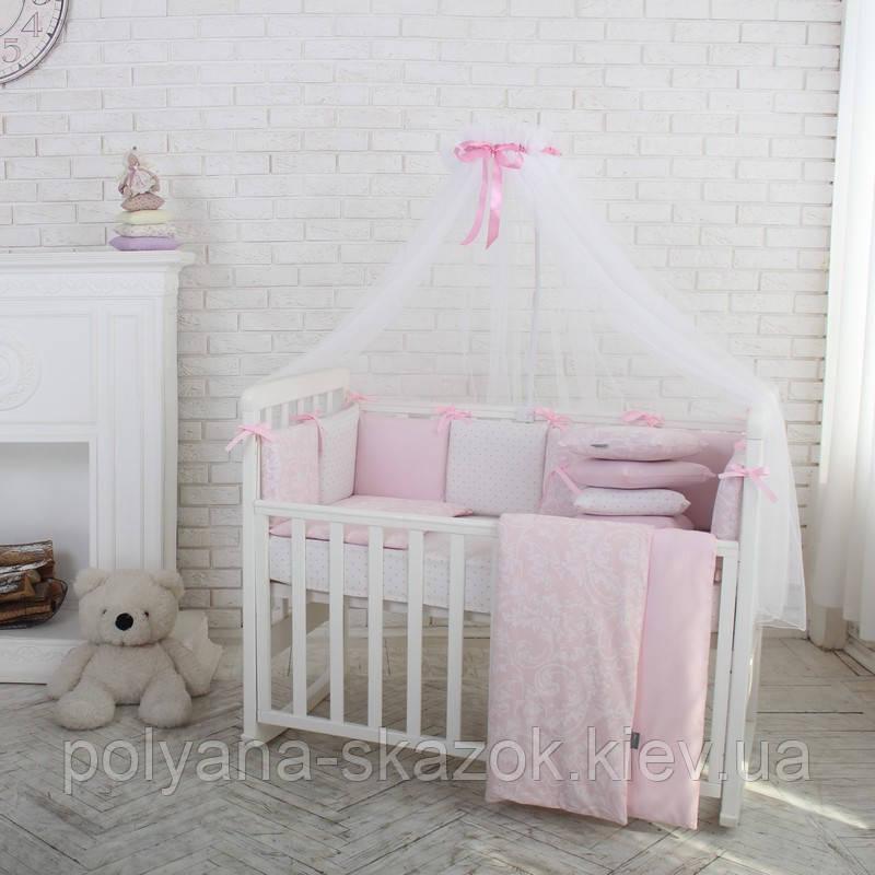 Baby Design Премиум Жаккард розовый, фото 1