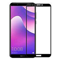 Защитное стекло iPaky Xbillion 3D Full Glue для Huawei Y7 2018, Honor 7c Pro (LDN-L21) Black, фото 1