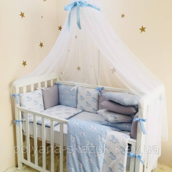 Комплект Baby Design Премиум Лошадки, фото 1