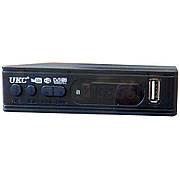 Цифровой эфирный тюнер  UKC  Т2-0967 с поддержкой wi-fi адаптера