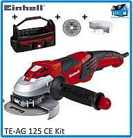 Угловая шлифмашина (болгарка) Einhell TE-AG 125 CE Kit, фото 1