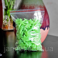 Люминесцентные салатовые камни в аквариум - 10шт.