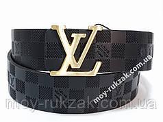 Ремень женский кожаный Louis Vuitton, ширина 40 мм., реплика арт. 930710