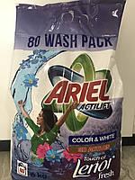 Стиральный порошок Ariel Actilift Lenor Color & White 6 кг (80 стирок)