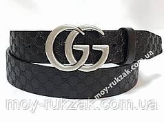 Ремень женский кожаный Gucci, ширина 40 мм., реплика арт. 930712