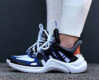 Кроссовки Louis Vuitton Archlight sneakers Archlight Blue. Живое фото. Топ реплика ААА+, фото 1