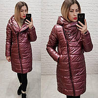Куртка oversize весна-осеньM522 марсала