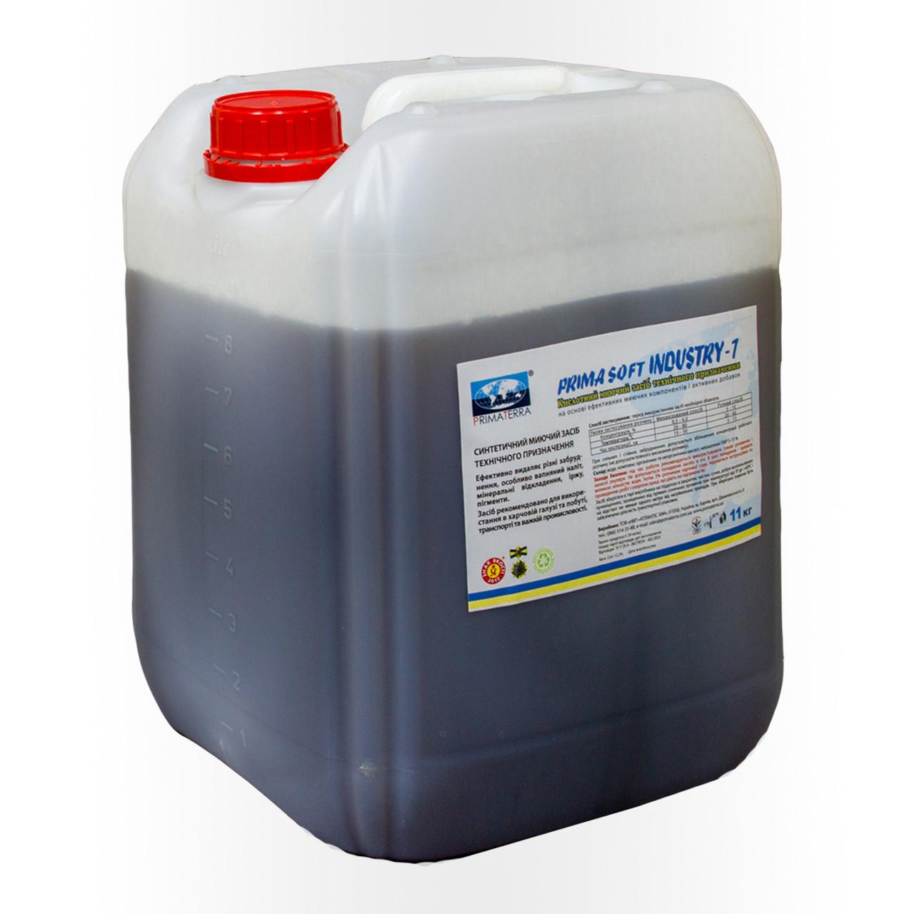 Для удаления отложений, ржавчины, водного камня, концентрат Industry-1 (11кг)