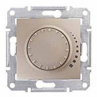 Диммер Schneider-Electric Sedna поворотно-нажимной индуктивный титан ( SDN2200568 )