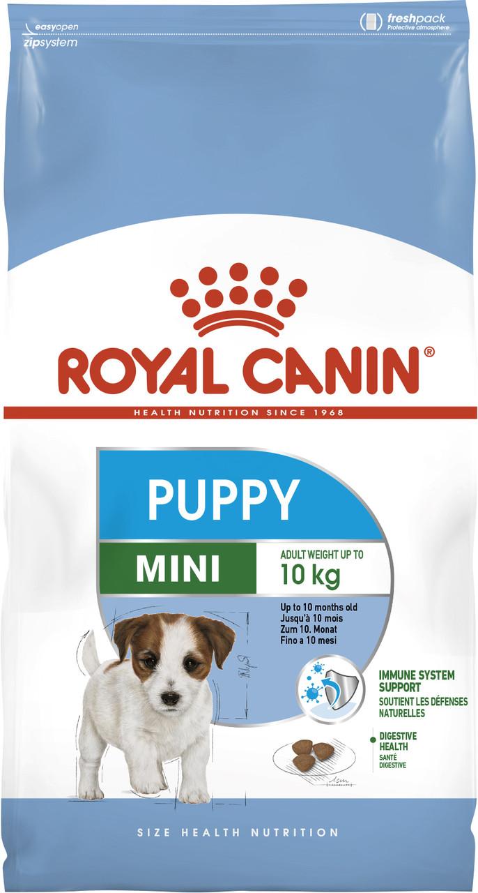 Сухой корм Royal Canin Mini Puppy для щенков мелких пород, 2КГ