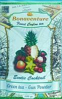 """Зеленый чай """"Exotic cocktail"""" (Экзотический коктейль) - Bonaventure 100 г."""