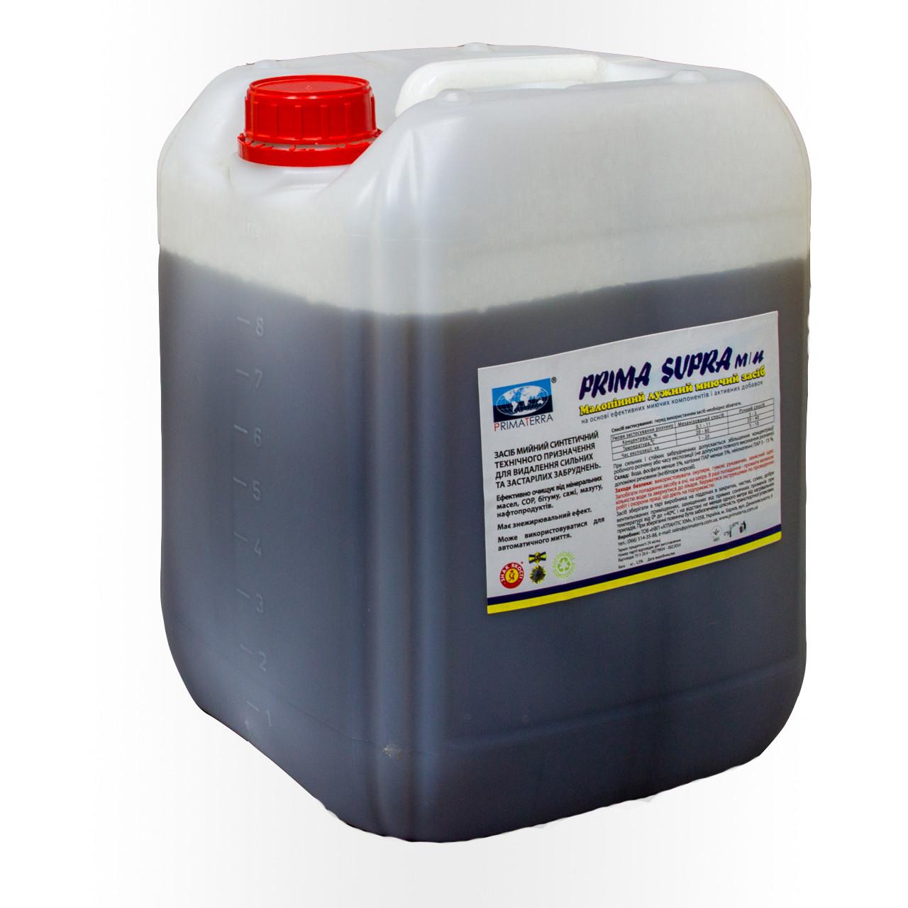 Для удаления ГСМ, мазута, масел, малопенное, концентрат Supra м/п (12кг)