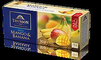 """Чай Турсон """"Манго банан"""" черный 25ф/п"""