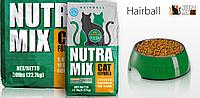 Сухой корм Nutra Mix Hairball (Нутра Микс хаербол) для котов выведение шерсти 9,07 кг