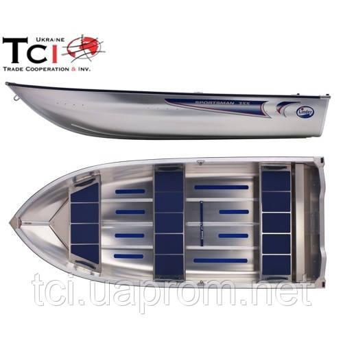 Алюминиевая лодка Linder 355 - Японская мототехника. Немецкая мотоэкипировка. Шведские алюминиевые лодки. в Киеве