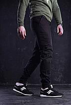 Брюки-чинос мужские Bronson (Бронсон) чёрные , фото 2