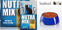Сухой корм Nutra Mix Seafood (Нутра Микс сифуд) для кошек с рыбой 9,07 кг