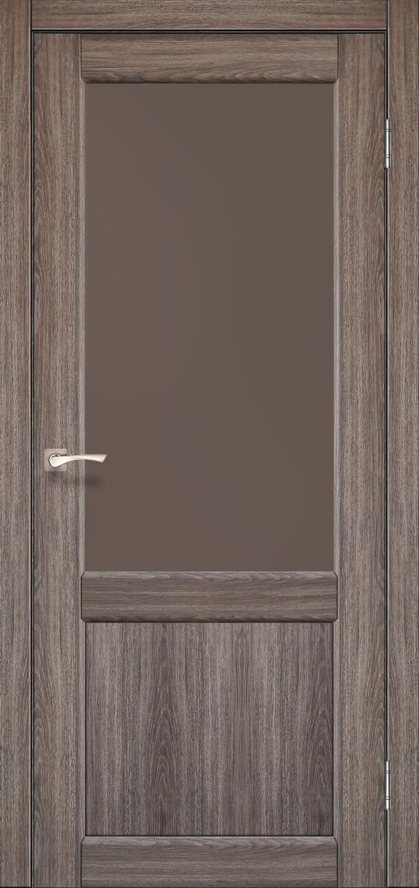 Міжкімнатні шпоновані двері Korfad Classico CL-01