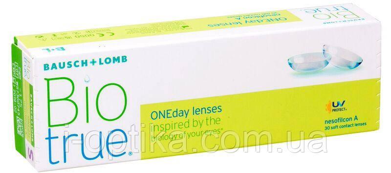 Однодневные контактные линзы Biotrue