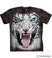 3D футболка мужская The Mountain р.M 48-50 RU футболки мужские с 3д принтом рисунком - Белый Тигр