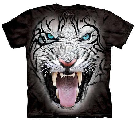 3D футболка мужская The Mountain р.M 48-50 RU футболки мужские с 3д принтом рисунком - Белый Тигр, фото 2