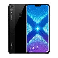 "Смартфон Huawei Honor 8X 4/64Gb Black, 20+2/16Мп, 6.5"" IPS, 3750mAh, 2SIM, 4G, Hisilicon Kirin 710, 8 ядер"
