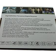Цифровой эфирный тюнер Т2  CRG WIFI МЕТАЛЛИЧЕСКИЙ, фото 3